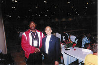 GrandMaster Jhoon Rhee the father of TKD in The USA and Bruce Lee's mentor and Friend